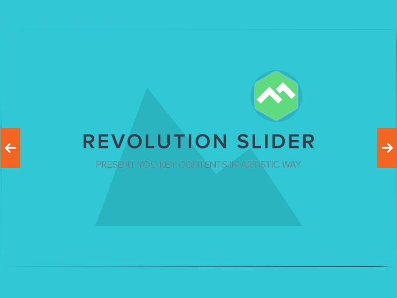 اسلایدشو Revslider وردپرس