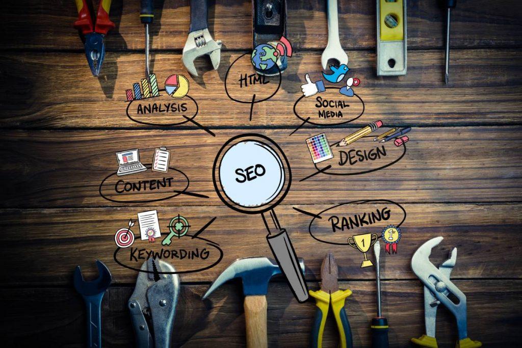 طراحی سایت لیست ابزار